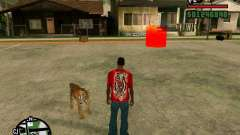 Tigre en GTA San Andreas para GTA San Andreas