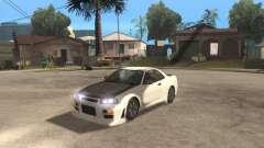 Nissan Skyline R-34 TUNED para GTA San Andreas