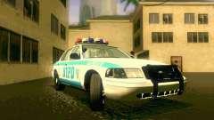 Ford Crown Victoria 2003 NYPD police para GTA San Andreas