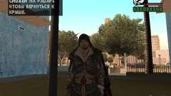 Ezio auditore en armadura de Altair