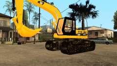 Excavadora CAT para GTA San Andreas