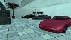 Más coches en el salón del automóvil de Dougherty para GTA San Andreas