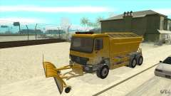 Mercedes-Benz Actros quitanieves para GTA San Andreas