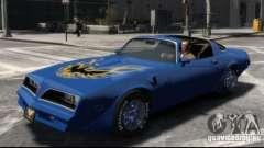 Pontiac Trans Am 1977 para GTA 4