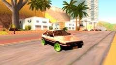 Toyota Corolla Carib AE86 para GTA San Andreas