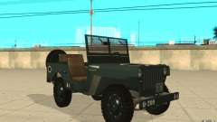 Willys MB para GTA San Andreas