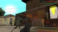 M4A1 Camo para GTA San Andreas