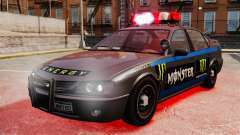 Policía Monster Energy para GTA 4