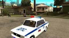 Vaz 2105 DPS para GTA San Andreas