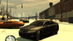 Ford Taurus Police Interceptor Stealth para GTA 4