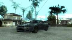 Nissan Skyline GT-R34 V-Spec para GTA San Andreas