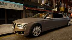 Limusina Audi A8