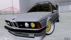 BMW M635CSi Stanced