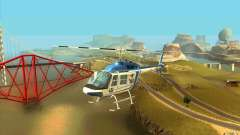 Bell 206 B Police texture1 para GTA San Andreas