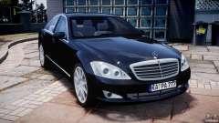 Mercedes-Benz S600 w221 para GTA 4