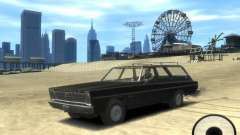 Plymouth Belvedere Wagon 1965 v1.0 para GTA 4