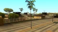 La cerca alrededor del surco Sreet