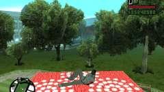 Alfombra voladora para GTA San Andreas