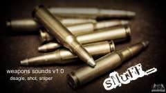 Weapons sounds v1.0