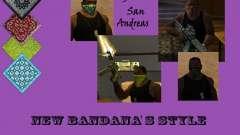 New Bandanas Style para GTA San Andreas