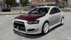 Mitsubishi Lancer Evolution X ToneBee Designs para GTA 4