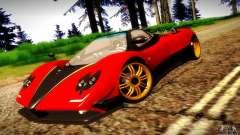 Pagani Zonda Tricolore V2 para GTA San Andreas