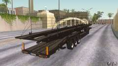 El camión de remolque
