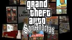 Nuevas texturas de restaurantes y tiendas para GTA San Andreas