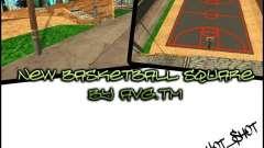 La nueva cancha de baloncesto para GTA San Andreas
