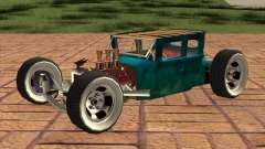 Ford model T 1925 ratrod para GTA San Andreas