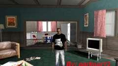 La camiseta GTA 5 para GTA San Andreas