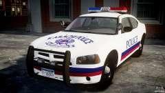 Dodge Charger Karachi City Police Dept Car [ELS] para GTA 4