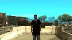 Varrios Los Aztecas Gang Skins para GTA San Andreas