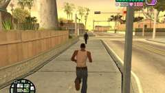 Vice City Hud para GTA San Andreas