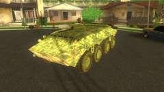 BTR-80 electrónica camuflaje para GTA San Andreas