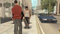 Pedy con bolsas para GTA San Andreas