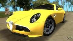 Alfa Romeo 8C Competizione para GTA Vice City