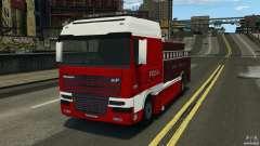 DAF XF Firetruck para GTA 4