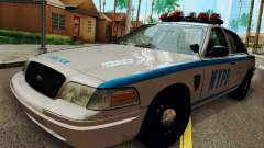 Ford Crown Victoria 2003 NYPD White para GTA San Andreas