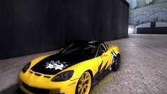 Chevrolet Corvette C6 super promotion para GTA San Andreas