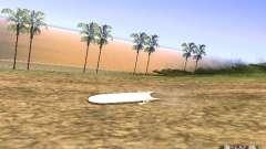 Aèrobord de la película volver al futuro 2 para GTA San Andreas