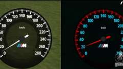 Velocímetro BMW nuevo para GTA San Andreas