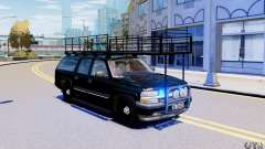Chevrolet Suburban 2003 Norwegian SWAT Edition para GTA 4