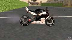 Yamaha YZF-R6 Street Fighter para GTA San Andreas