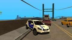 Nissan Qashqai Espaqna Police para GTA San Andreas