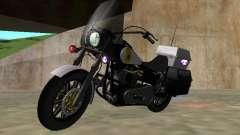 Harley Davidson Dyna Defender para GTA San Andreas