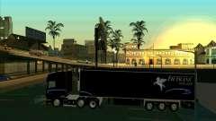 Remolque para el Scania R620 Pimped