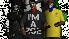 Una nueva banda para reemplazar a los transeúntes para GTA San Andreas