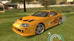 Toyota Supra from 2 Fast 2 Furious para GTA San Andreas