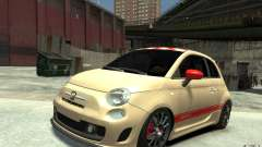 Fiat 500 Abarth Esseesse V1.0 para GTA 4